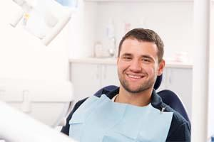 Man at Dentist | Charlestown NSW Extractions