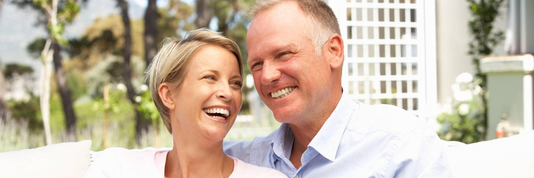 Older Couple | Teeth Whitening Charlestown NSW